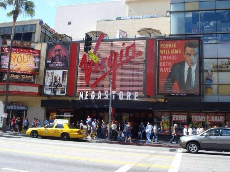 Promoción de Robbie Williams en Estados Unidos