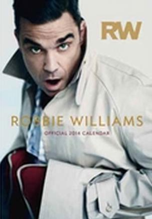 Posible portada del calendario oficial de Robbie Williams 2014
