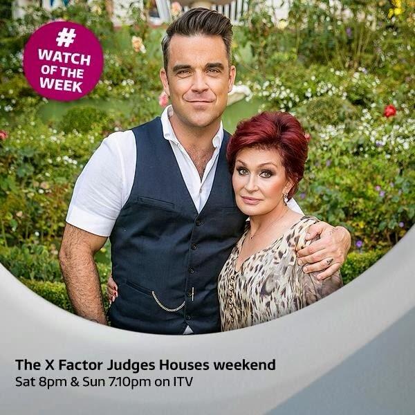 Robbie Williams y Sharon Osbourne