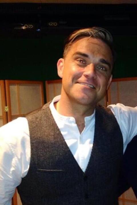 Robbie Williams en una entrevista para