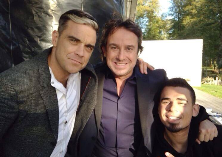 Robbie Williams ya está en Amsterdam