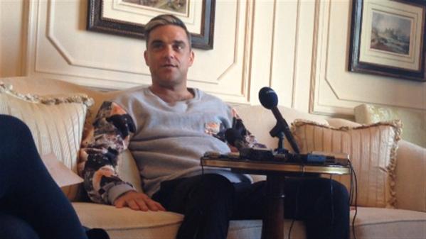 Entrevista a Robbie en radio de Noruega